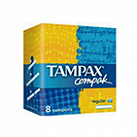 Тампоны Tampax compak regular №8